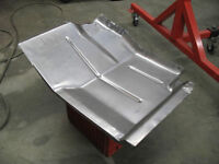 DRIVER SIDE FRONT FLOOR PAN JEEP CJ5 AND CJ7