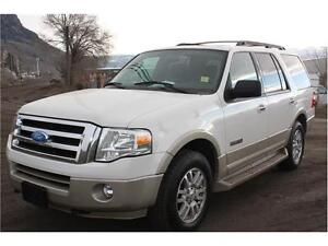 2008 Ford Expedition Eddie Bauer 4whdr 8 Passenger NEW PRICE!!!