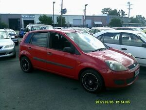 2007 Ford Fiesta WQ LX Red 5 Speed Manual Hatchback Coopers Plains Brisbane South West Preview