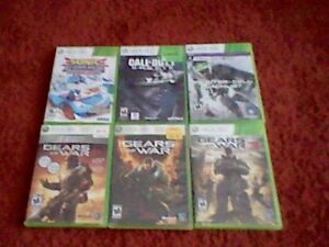 Selling some xbox 360 games.
