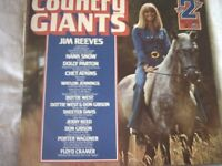 Vinyl LP Country Giants Vol 2 - Various Artists RCA Camden PDA 041 1970's