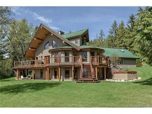 5810 Hartnell Rd, Vernon BC - One of a Kind Home on 8.48 Acres!
