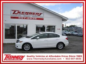 2012 Honda Civic Sdn EX ONLY $10,877.00 JUST $95.00 B/W OAC