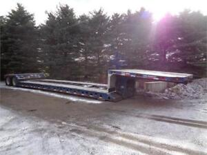 2009 TRAIL KING RGN REMOVABLE GOOSE NECK FLOAT TRAILER
