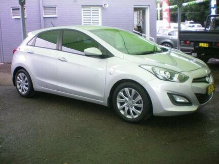 2012 Hyundai i30 GD Active 1.6 CRDi Silver 6 Speed Automatic Hatchback Heatherbrae Port Stephens Area Preview