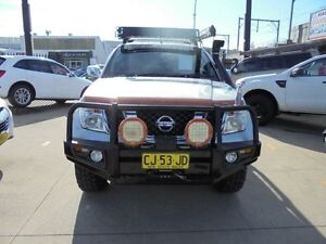 2007 Nissan Navara D40 ST-X Silver 6 Speed Manual 4D Utility Granville Parramatta Area Preview