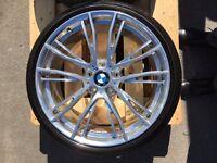 """BMW 3 Series & 4 Series 20"""" Chrome Wheel Set"""