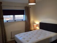 Double room with bathroom for rent in top floor flat/apartment.