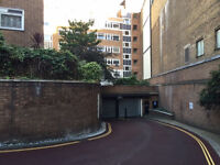 Long term parking space rental opportunity in prime location central London
