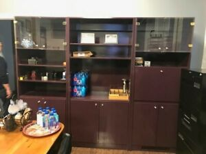 Business closing after 60 years / 3 PC wall unit for sale