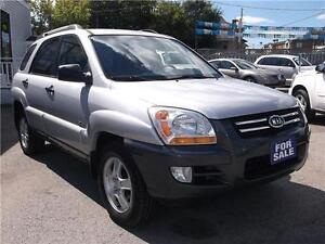 2006 KIA SPORTAGE LX V6 *** 4X4 *** LOADED WITH OPTIONS ***