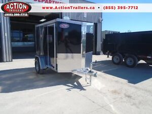 MOTORCYCLE TRAILER ALL ALUMINUM NEO 5X9' - LIGHT WEIGHT London Ontario image 1