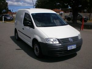 2007 Volkswagen Caddy 2K MY07 1.9 TDI White 5 Speed Manual Van Victoria Park Victoria Park Area Preview