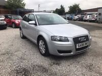 2008 Audi A3 1.6 Special Edition 3dr FSH+1 PREVIOUS OWNER+2 KEYS