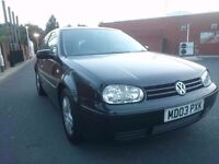 2003 VOLKSWAGEN GOLF GT TDI..6 SPEED GEARBOX..SERVICE HISTORY..MOT AND TAXED..