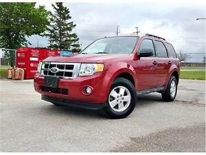 2012 Ford Escape XLT 4X4 *Local Manitoba 1 Owner*