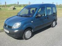 Renault Kangoo 1.2 16v 75 Authentique Factory Wheel Chair Access 2006 only 40100