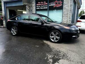 2012 ACURA TL SH-AWD **MANUAL 6 SPEED** W/TECH PKG