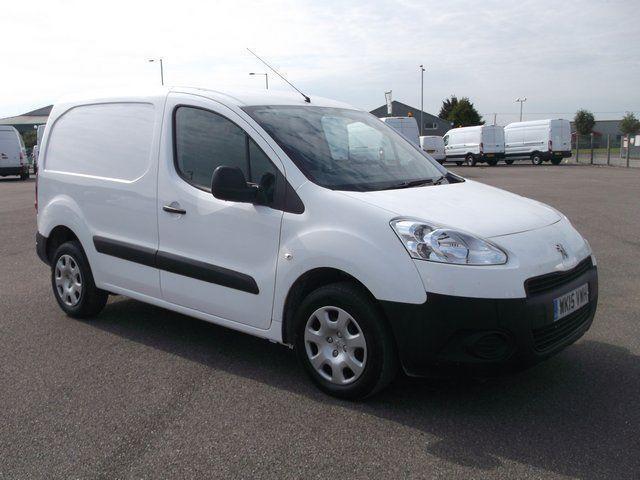 Peugeot Partner L1 850 S 1.6 HDI 92 BHP VAN DIESEL MANUAL WHITE (2015)