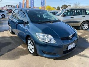 2007 Toyota Corolla ZZE122R 5Y Ascent Blue 4 Speed Automatic Hatchback Maidstone Maribyrnong Area Preview