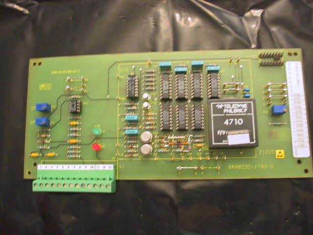 New Siemens Printed Circuit Board 6RA8232-1TB0 With Diagram Sheets 6RA82321TB0