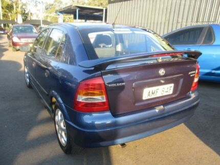2002 Holden Astra TS Equipe Blue 4 Speed Automatic Hatchback Tuggerah Wyong Area Preview