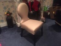 Lovely Shabby Chic Vanity Desk Chair - Never Sat In - Brand New - Was £299 Now Just £48