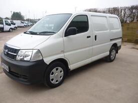 Toyota Hi-Ace 2.5D-4D Diesel Panel Van