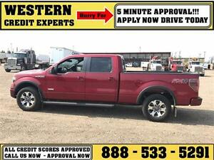 2013 Ford F-150 FX4 4x4 LOADED ~ Sunroof ~ Eco Boost ~ $271 B/W