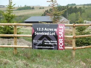 Just North East  of Cochrane 12.5 Acres