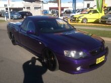 2003 Ford Falcon BA XR8 Purple 5 Speed Manual Utility Sutherland Sutherland Area Preview