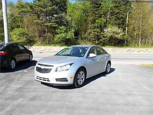 2014 CHEVROLET CRUZE LT...LOADED!! REMOTE STARTER & BLUETOOTH!!