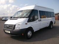 Ford Transit T430 LWB MEDIUM ROOF 17 SEATER MINI BUS 135PS DIESEL MANUAL (2014)