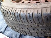 Kleber Viaxer 165/65 R13 NEVER BEEN USED tyre and rim for KA car