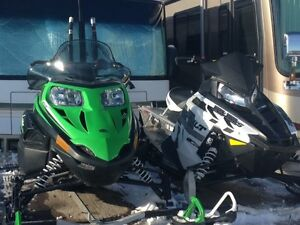 2015 Polaris Switchback and Arctic Cat Lynx Package Deal !!!
