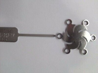 Medtronic 015-262-14 Timesh Plate Burr Hole 14mm Synthes Stryker Leibinger
