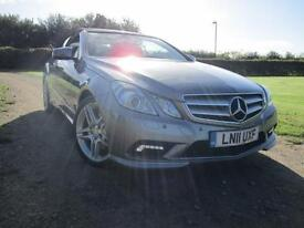Mercedes-Benz E350 3.0CDi Blu-Efficiency ( 231bhp ) Auto Convertible Sport