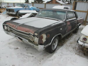1965 Olds 442 - Rare 4 Speed Car!