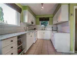 Newly Renovated 4 + 1 Bedroom, 2.5 Bathroom House for Rent