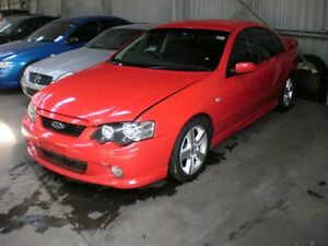 2003 Ford Falcon BA XR6 Turbo Red A Sedan