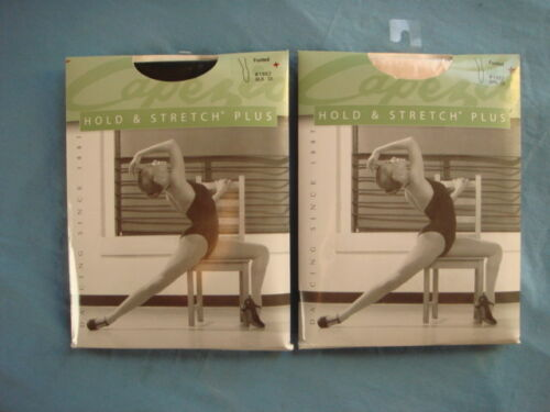 Capezio Hold & Stretch Womens Plus Size Footed Tights-1862  1X-2X-3X