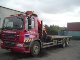 daf crane truck
