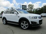 2014 Holden Captiva CG MY14 5 LTZ (AWD) White 6 Speed Automatic Wagon Underwood Logan Area Preview
