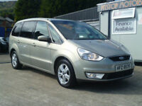 2010 FORD GALAXY ZETEC 2 litre TDCi 7 X SEATER -NIL DEPOSIT FINANCE AVAILABLE ON ALL OUR CARS