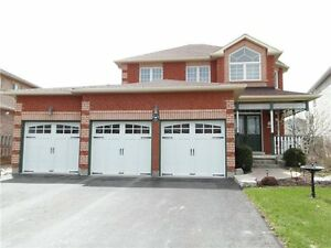 INNISFIL. Two storey home for Rent. Triple car garage.