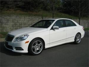 2013 MERCEDES-BENZ E300 AMG SPORT (NAVI, CUIR, TOIT, AIR, FULL!)