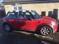 Mini Cooper D, Great condition, chequered roof, new clutch