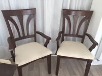 Chairs (Carvers) 2 in total (sold separately)