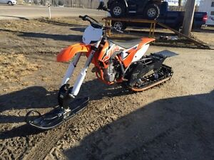 2015 KTM 450 SX TIMBER SLED