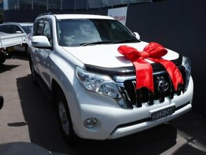 2014 Toyota Landcruiser Prado KDJ150R MY14 GXL White 5 Speed Sports Automatic Wagon Brookvale Manly Area Preview